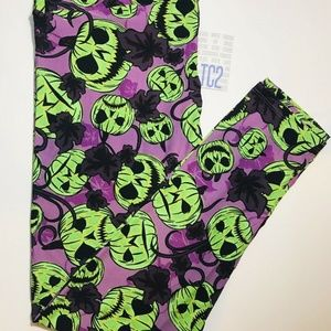 LulaRoe TC2 Halloween Leggings Vintage Sizing